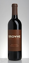 """Browne 2012 """"Tribute Red"""" Columbia Valley"""