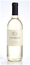 Fox Brook 2015 Pinot Grigio, California