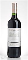 Chateau Hyot 2014 Castillon Côtes de Bordeaux