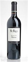 Mr. Riggs 2014  Shiraz
