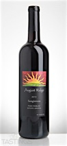 August Ridge 2013 Estate Grown, Sangiovese, Paso Robles