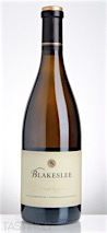 Blakeslee Vineyard Estate 2013 Reserve Chardonnay