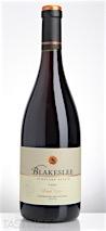 Blakeslee Vineyard Estate 2012  Pinot Noir