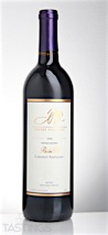 "Nordby Vineyards 2006 Vintners Reserve ""Re dei Re"" Cabernet Sauvignon"