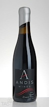 Andis Wines 2011 Syrah Dessert Wine Amador County