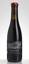 "Byington 2013 ""Euphoria II"" Pinot Noir"