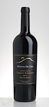 Monte De Oro 2011 Estate Grown Reserve Cabernet Sauvignon