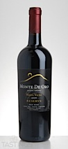 "Monte De Oro 2009 ""Vigna Vicini"" Estate Grown Reserve Vista Del Monte Vineyard Red Wine Temecula Valley"