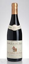 Marquis de Brim 2013 Grande Reserve, Pinot Noir, Nuits St. Georges