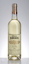 Johnson Estate 2014 Estate Grown Seyval Blanc