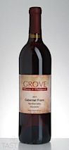 Grove Winery 2011 Estate Cabernet Franc