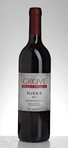 "Grove Winery 2013 ""Block B"" Estate Red Haw River Valley"