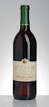 "St. Clair Winery 2014 ""Mimbres Red"" Sweet Table Wine New Mexico"