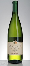 St. Clair Winery 2014  Riesling