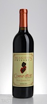 Plagido's Winery 2013 Coeur dEst Estate Grown Outer Coastal Plain