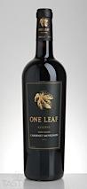 ONE LEAF 2013 Reserve Cabernet Sauvignon