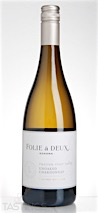 Folie à Deux 2014 Unoaked Limited Release Chardonnay