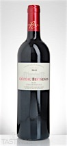 Chateau Berthenon 2012 Red Cuvee Henri, Côtes de Bordeaux
