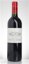 Château Grand Abord 2012 Graves Rouge