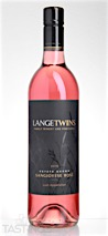 LangeTwins Winery 2015 Estate Sangiovese Rosé Lodi