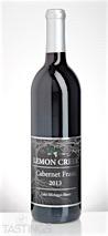 Lemon Creek 2013  Cabernet Franc
