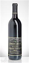 Lemon Creek 2013 Barrel Select Cabernet Sauvignon