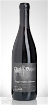 "Cloak & Dagger 2012 ""Foggy Bottom Reserve"" Pinot Noir"