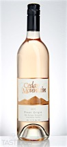 Cedar Mountain 2015 Del Arroyo Vineyard Pinot Grigio