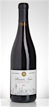 City Winery 2013 Alder Springs Vineyard Reserve Pinot Noir