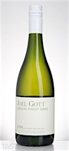 Joel Gott 2014 Pinot Gris, Willamette Valley