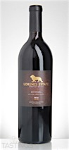 Lorenzi Estate 2012 Old Vine Lopez Ranch Zinfandel