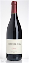 Parmelee-Hill 2012 Estate Grown Block B, Syrah, Sonoma Valley