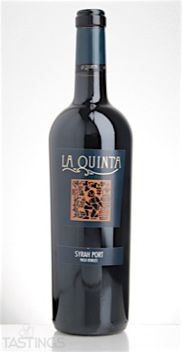 La Quinta Nv Syrah Port Paso Robles Usa Wine Review Tastings
