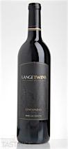 LangeTwins Winery 2013 Estate Zinfandel
