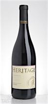 Heritage Vineyards 2013  Syrah