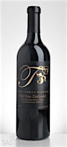 Tonti Family Wines 2013 Reserve, Zinfandel, Russian River Valley