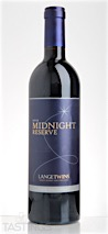 LangeTwins Winery 2012 Midnight Reserve Estate Red Lodi