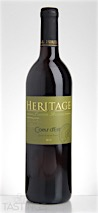 Heritage Vineyards 2014 Coeur dEst Outer Coastal Plain