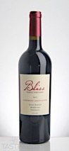 Bliss Family Vineyards 2015 Estate Bottled, Cabernet Sauvignon, Mendocino