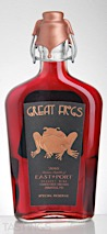 Great Frogs 2016 Harness Creek Vineyards EastPort Special Reserve Annapolis Maryland