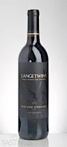 LangeTwins Winery 2014 Old Vine , Zinfandel, Lodi