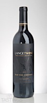 LangeTwins Winery 2014 Old Vine Zinfandel