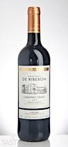 Chateau de Ribebon 2015 Cabernet Franc, Bordeaux Supèrieur