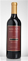 Maroon Wines 2013 Single Vineyard Reserve Malbec