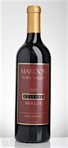 Maroon Wines 2013 Single Vineyard Reserve, Merlot, Napa Valley