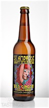 St. Ambrose Wild Ginger Draft Style Mead