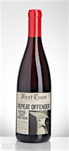 First Timer 2015 Repeat Offender, Pinot Noir, Central Coast