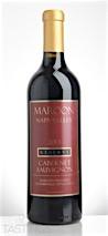 Maroon Wines 2013 Maroon Vineyard Reserve Cabernet Sauvignon