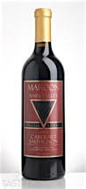 Maroon Wines 2013 Maroon Vineyard Special Reserve Cabernet Sauvignon