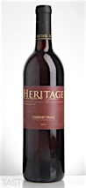 Heritage Vineyards 2014 Limited Release Cabernet Franc